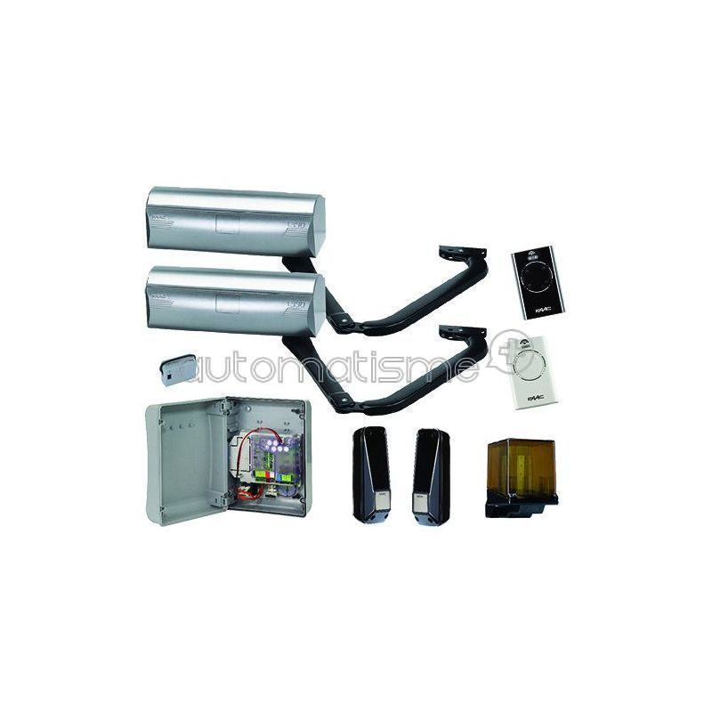 Kit portail coulissant FAAC CYCLO 400 KG