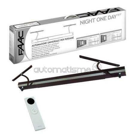 Kit volet battant FAAC NIGHT DAY marron