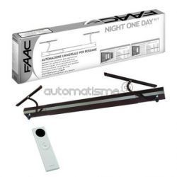 Kit volet battant FAAC NIGHT DAY SENSO blanc