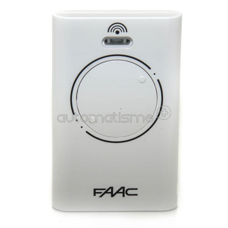 Télécommande FAAC XT2 433 SLH blanc