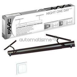 Kit volet battant FAAC NIGHT ONE DAY AUTO blanc