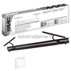 Kit volet battant FAAC NIGHT ONE DAY AUTO marron